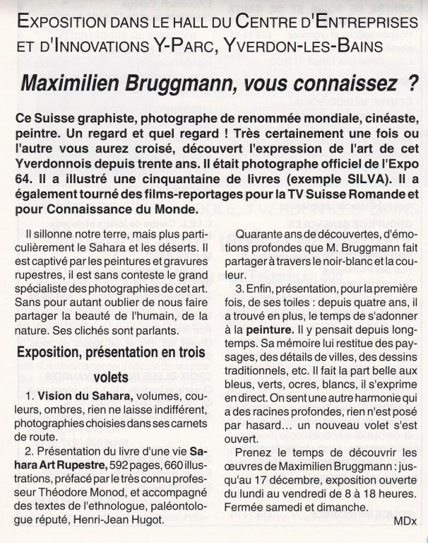 19991100 Yverdon Bruggmann Expo [Largeur max. 1024 Hauteur max. 768]